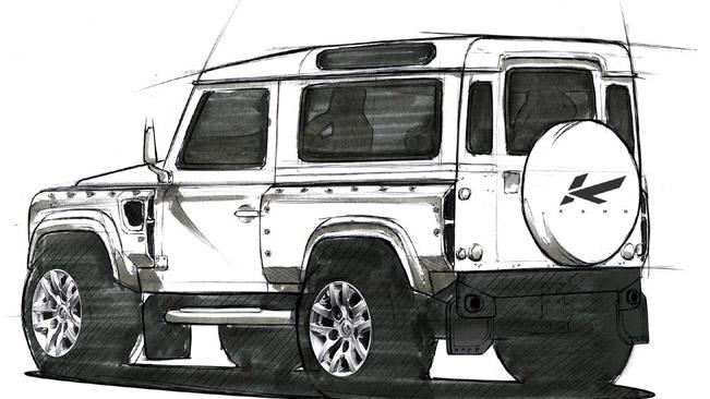 Land Rover Defender Paint Job >> 2012 Kahn Land Rover Defender Concept 17 Previewed