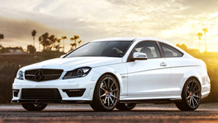 Vorsteiner Mercedes-Benz C63 AMG With New Outdoor Photoshoot