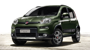 2013 Fiat Panda 4x4 debuts in Paris