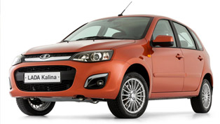 2013 lada kalina debuts in moscow