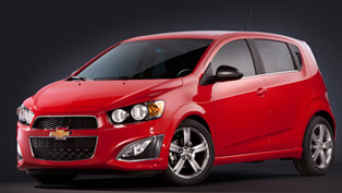 2013 Chevrolet Sonic RS - Pricing Announced
