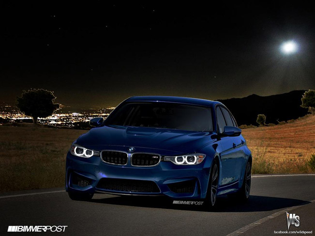 BMW M3 F80 Render