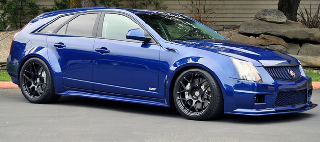 Canepa Cadillac CTS-V Wagon Body Kit