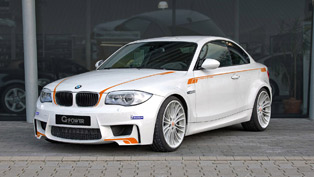 G-POWER Work on a BMW 1M Coupe