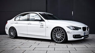 KW coilover kit for the new 2012 BMW 3-Series F30