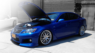 d2forged lexus is-f mb1 teased