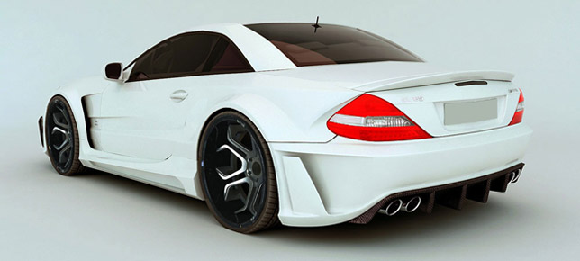 MEC Design Mercedes Benz SL R230 Wide Body