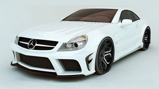mec design mercedes-benz sl r230 wide body