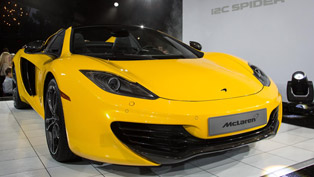 mclaren mp4-12c spider makes world debut at pebble beach