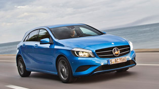 Mercedes-Benz A-Class wins AUTO BILD Design Award