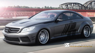 Prior Design Mercedes-Benz CL - widebody kit