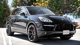 SR Auto Porsche Cayenne with PUR Wheels