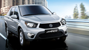2012 SsangYong Korando Sports to be launched this autumn