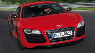 Audi R8 e-Tron Nurburgring record [HD video]