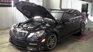 2013 mercedes e63 amg powered by hennessey - dyno testing [hd video]