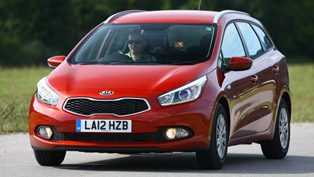 2012 Kia Cee'd Sportswagon - UK Price £16,895