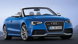 2013 Audi RS5 Cabrio - wind in the hair and V8 sound [video]