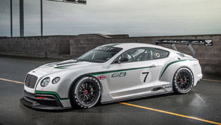 2013 bentley continental gt3 concept racer [video]