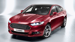 2013 Ford Mondeo - Advanced Active Park Assist and revised Suspension