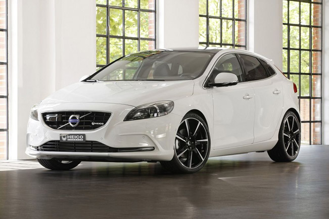 What Are Wheel Spacers >> 2013 Heico Sportiv Volvo V40 Offers More Driving Excitement