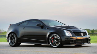 2013 hennessey cadillac vr1200 twin turbo coupe - 1200hp and 1500nm