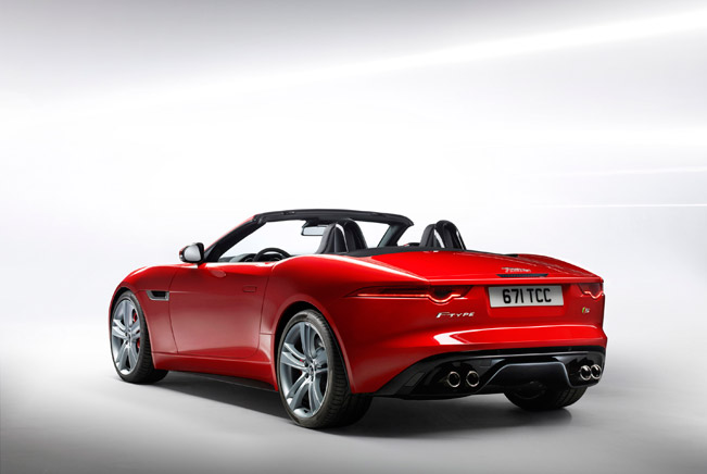 2012 Paris Motor Show: Jaguar F Type U2013 A Two Seater Convertible Sports Car