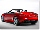 2012 Paris Motor Show: Jaguar F-Type – A Two-Seater Convertible Sports car