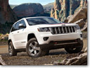 2013 Jeep Grand Cherokee Trailhawk and 2013 Jeep Wrangler Moab