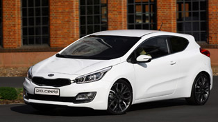 2013 Kia pro_cee'd With World Premiere
