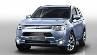 2013 Mitsubishi Outlander PHEV - The World's first Plug-in hybrid SUV