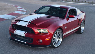 2013 Shelby GT500 Super Snake - 662HP and 855Nm