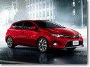 2013 Toyota Auris at the Paris Motor Show