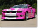 Pink Chevrolet Camaro Helps Raise Breast Cancer Awareness