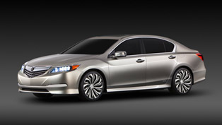 2014 Acura RLX Sedan Debuts at the Los Angeles Auto Show