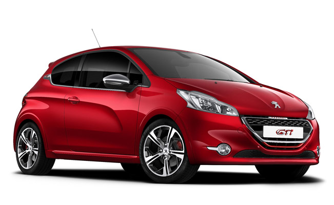 2014 Peugeot 208 Gti First Official Pictures And Details
