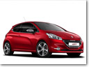 2014 Peugeot 208 GTi - First Official Pictures and Details