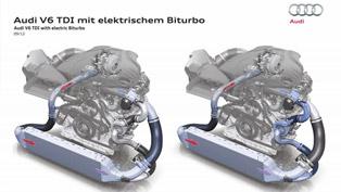 audi's electric bi-turbo engine