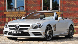 brabus 2013 mercedes sl-class - beast on wheels