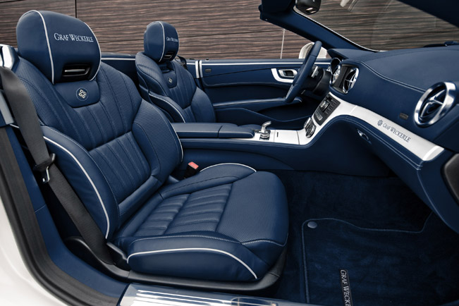 2012 graf weckerle mercedes benz sl 500 athletic elegance meets maritime attitude. Black Bedroom Furniture Sets. Home Design Ideas