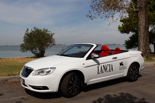Lancia Flavia Red Carpet Special Edition Debuts At Venice Film