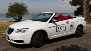 "lancia flavia ""red carpet"" special edition debuts at venice film festival"