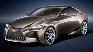 Lexus LF-CC Concept at the Paris Motor Show
