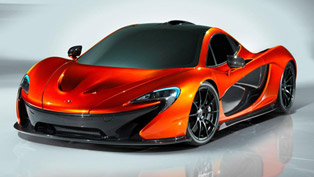 McLaren P1 Concept - 0-100 km in 2.8 seconds