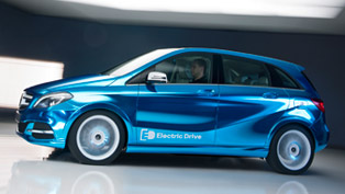 Mercedes-Benz B-Class Electric Drive Concept to be Revealed in Paris