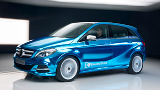 2012 Paris Motor Show: Mercedes-Benz B-Class Electric Drive Concept