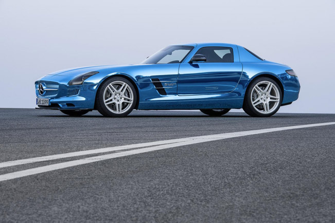 Mercedes benz sls amg coupe electric drive 416 500 for Mercedes benz electric sls