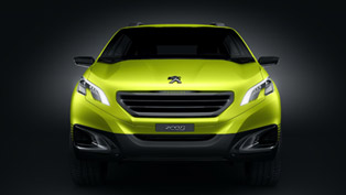 Peugeot 2008 Concept Revealed