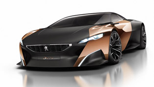 Peugeot Onyx Concept Unveiled Ahead of Paris [VIDEO]