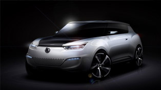 ssangyong e-xiv concept to be revealed in paris