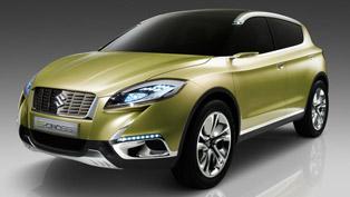 2012 Paris Motor Show: Suzuki S-CROSS Concept